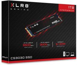 PNY XLR8 CS3030 M.2 NVMe SSD Interno 1TB