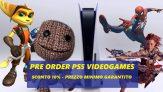 Preordina ora i tuoi giochi preferiti PS5