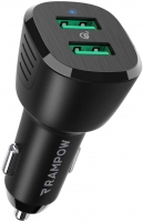 RAMPOW RBB21-IT Quick Charge 3.0 Caricatore per Auto