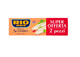 Rio Mare, Filetti di Sgombro all'Olio di Oliva – 2 Lattine da 125 g