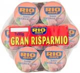 Rio Mare – Tonno all'Olio di Oliva, Qualità Pinne Gialle, 7 lattine da 80g
