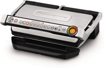 Rowenta GR722D Optigrill+ XL Bistecchiera Intelligente con 9 Programmi di Cottura