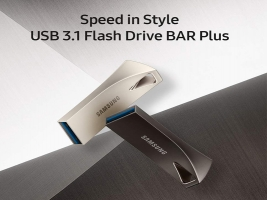 Samsung Bar Plus USB Flash Drive Memorie Stick – 128GB
