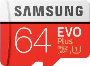 SAMSUNG Evo Plus 2020 Memoria Flash da 64 GB MicroSDXC