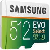 Samsung Memorie MB-ME512GA EVO Select Scheda microSD da 512 GB