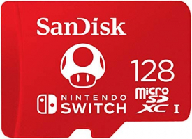 SanDisk MicroSDXC UHS-I 128 GB – Scheda per Nintendo Switch