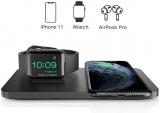 Seneo Caricabatterie Wireless 2in1
