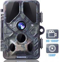 SGODDE Fotocamera da Caccia, 16MP 1080P