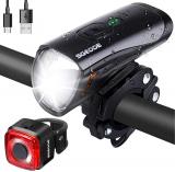 SGODDE Set di Luci per Biciclette a LED StVZO