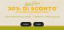 30% SCONTO SULLO SHOP FOSSIL
