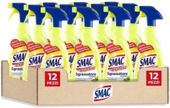 Smac – Sgrassatore Trigger Cucina Limone – 650ml x 12 pezzi – 7800 ml