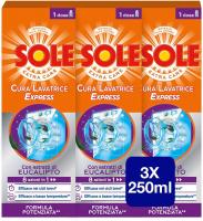 Sole Cura Lavatrice Express, Formula Potenziata 8 Azioni – 3 Confezioni da 250ml