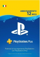 SONY PlayStation Plus Card Abbonamento 12 Mesi