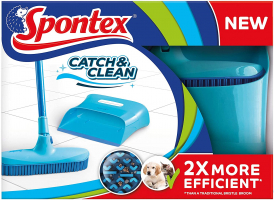SPONTEX – Kit di pulizia e spolveramento pavimento Catch and Clean