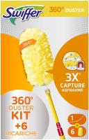 Swiffer Duster 360° Starter Kit 1 Manico + 6 Piumini