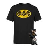 T-SHIRT + FIGURE DC DI BATMAN