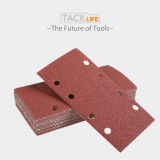 Tacklife ASD05C Carta Abrasiva 93x185mm, 25 pezzi