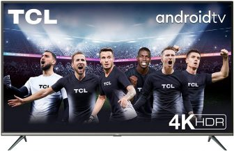 TCL 43P616 43 pollici, 4K HDR, Ultra HD, Smart TV con sistema Android 9.0