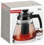 Tescoma 646622 Teo Teiera con Filtro, Vetro, 1.25 L