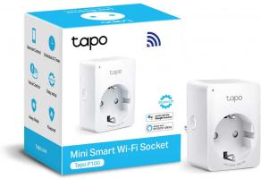 TP-Link Presa Intelligente WiFi Smart Plug, Tapo P100