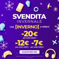 eGlobalcentral: SVENDITA INVERNALE Codice Sconto di 7€ valido su tutto!