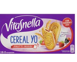 Vitasnella Cereal Yo Frutti Rossi 5 x 50,6 g