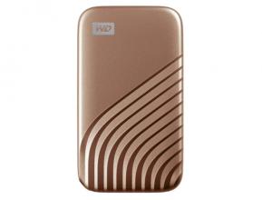 Western Digital WD My Passport SSD Portatile con Tecnologia NVMe, 1 TB, Oro