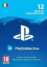 [COMBO RISPARMIO] PlayStation NOW: abbonamento di 12 mesi